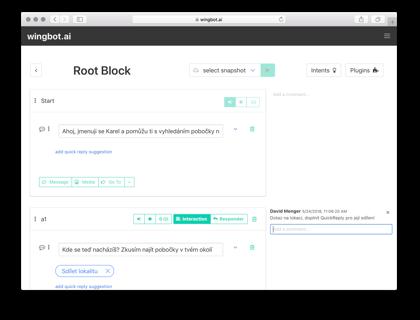 Wingbot ai - Enterprise Chatbot Platform